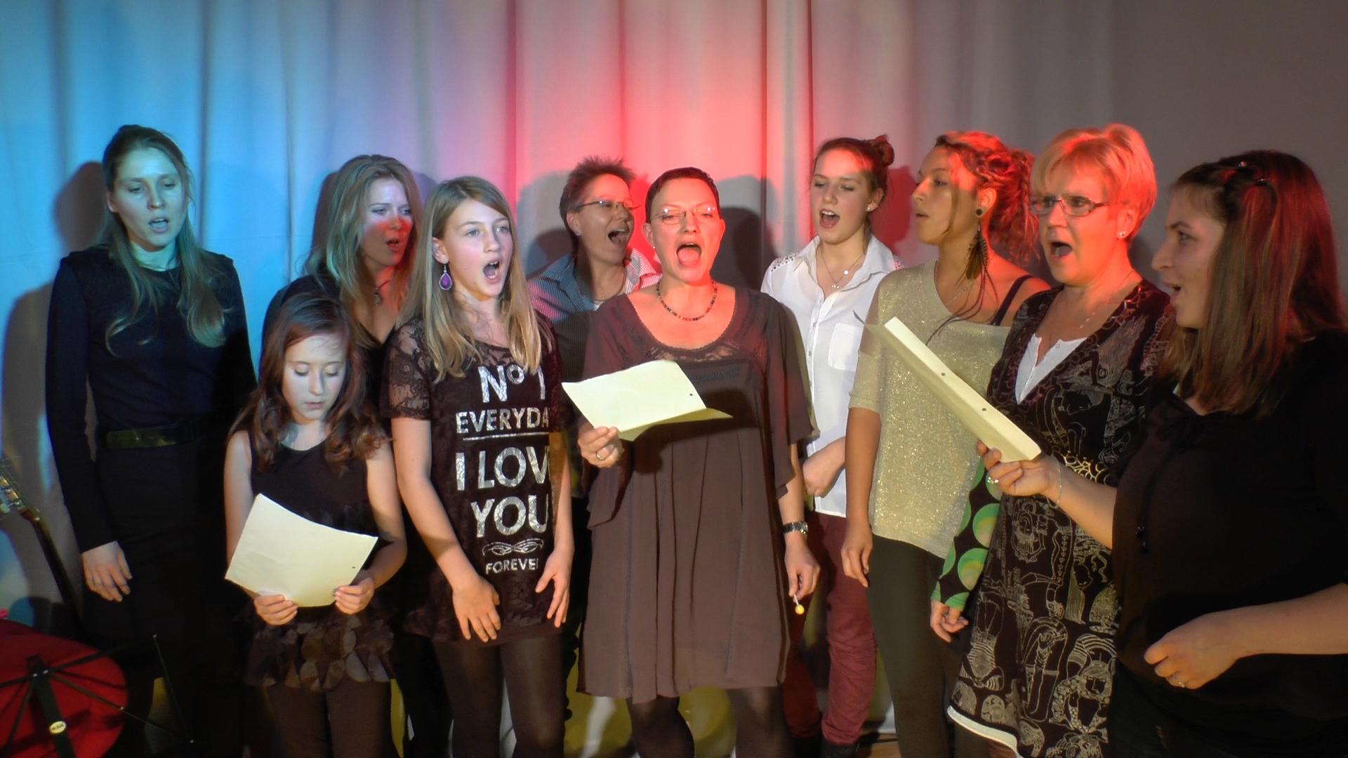 Gesangsworkshops Schülerfoto